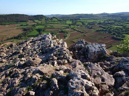 Sentier de la roche de Solutré