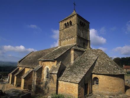 Eglise romane d'Ameugny